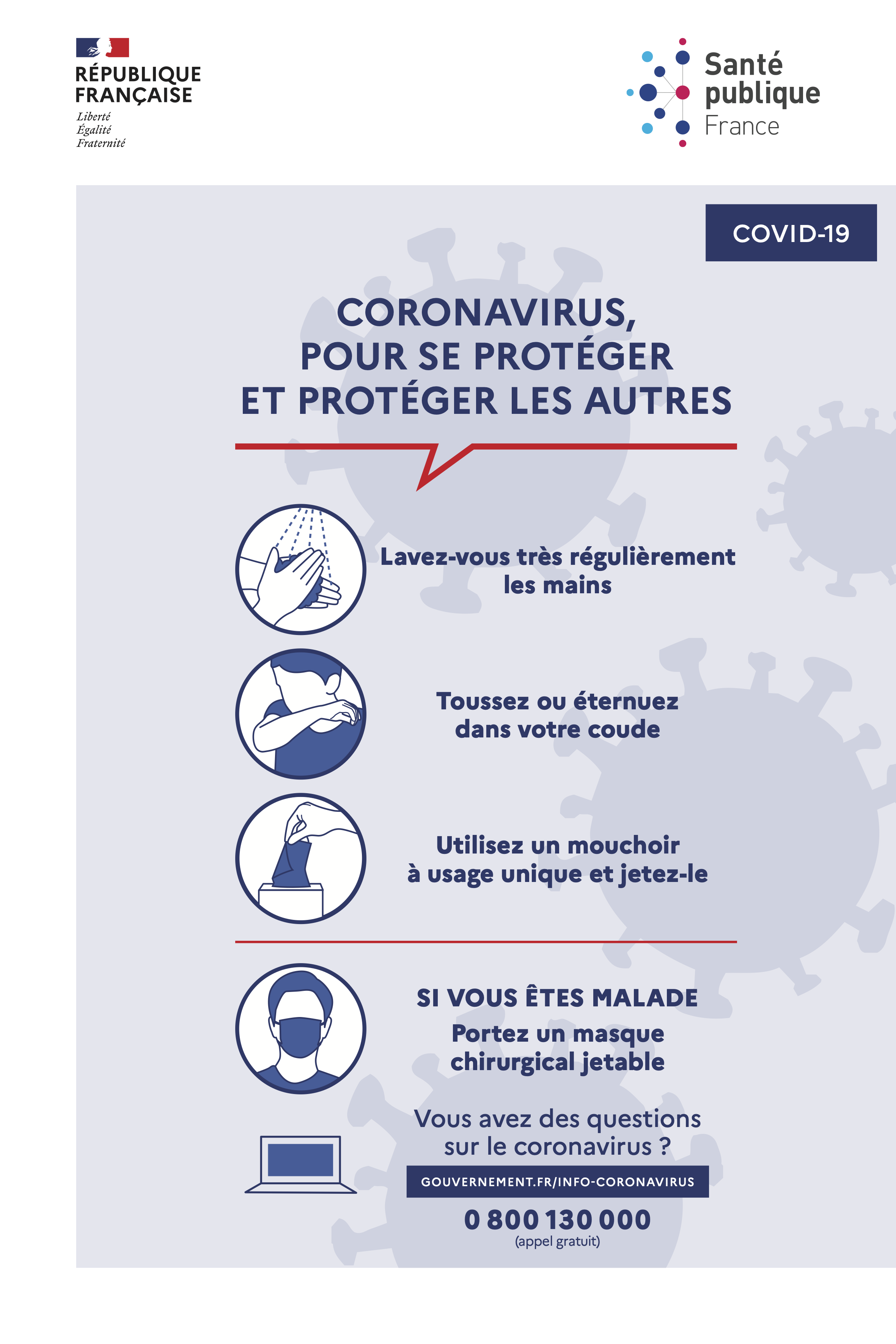 Coronavirus gestes barrieres